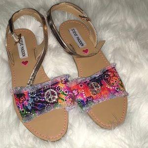 Steve Madden Shoes - Steve Madden NWT Jvilla Flat Sandal Girls US5